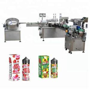 Automatska mašina za punjenje tekućina za 10ml
