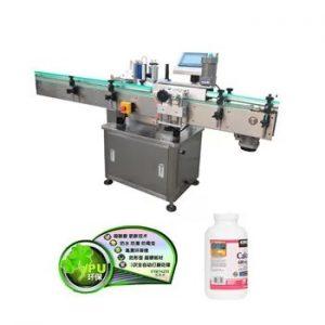 Automatska vertikalna mašina za etiketiranje boca od plastičnog stakla