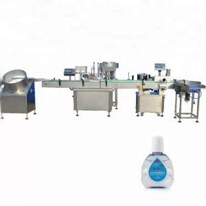 Mašina za punjenje boca kapalica sa dvije glave za punjenje