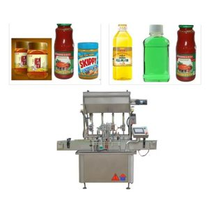Četiri mlaznice stroj za punjenje kečapa