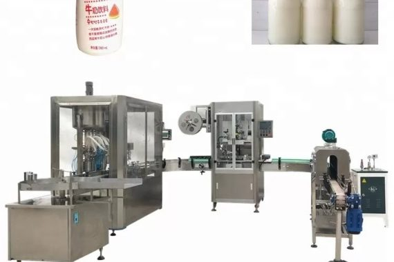 Automatska mašina za punjenje tečnih boca sa staklenom bocom