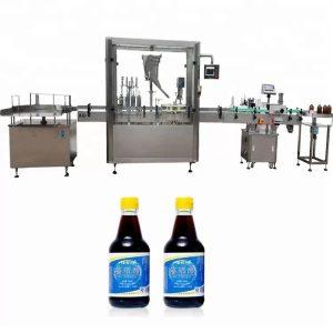 PLC kontrolna staklena mašina za zatvaranje boca sa 4 mlaznice