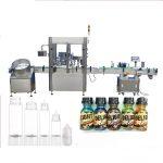Mašina za punjenje boca sa servo motorom, mašina za zatvaranje parfema sa kontrolom ekrana na dodir