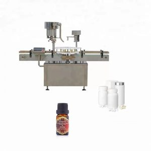 Mašina za zatvaranje boca od nehrđajućeg čelika koja se koristi u medicini